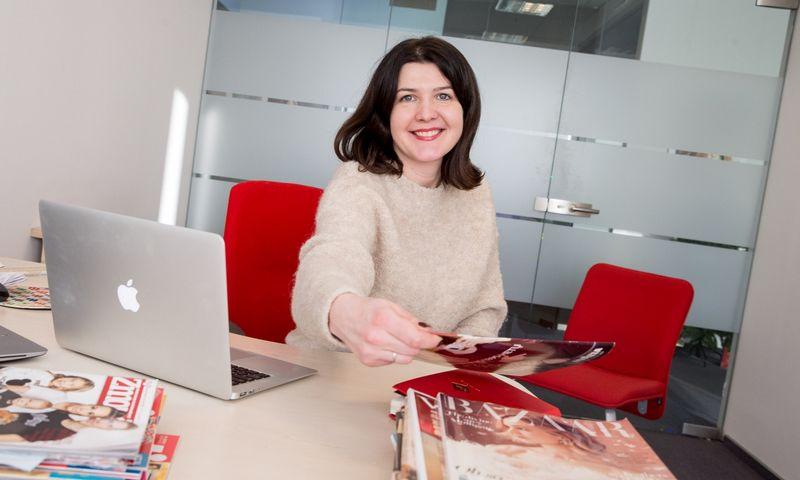 """Gabrielė Burbienė, UAB """"Media bitės"""" rinkodaros vadovė. Juditos Grigelytės (VŽ) nuotr."""