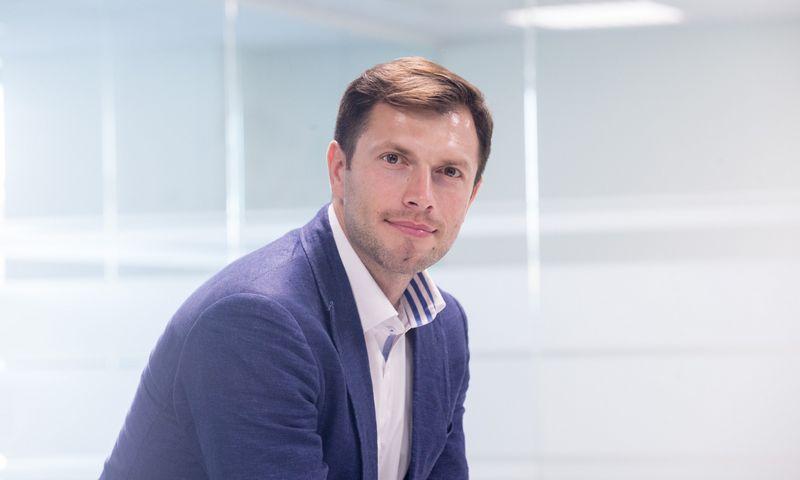 """Andrius Švolka, bendrovės """"Newsec"""" investicinių projektų vadovas.  Juditos Grigelytės (VŽ) nuotr."""
