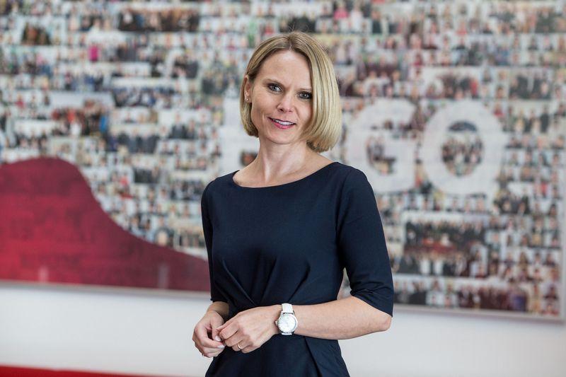 Lina Jakučionienė, ERGO korporatyvinės komunikacijos direktorė Baltijos šalyse. Vladimiro Ivanovo (VŽ) nuotr.