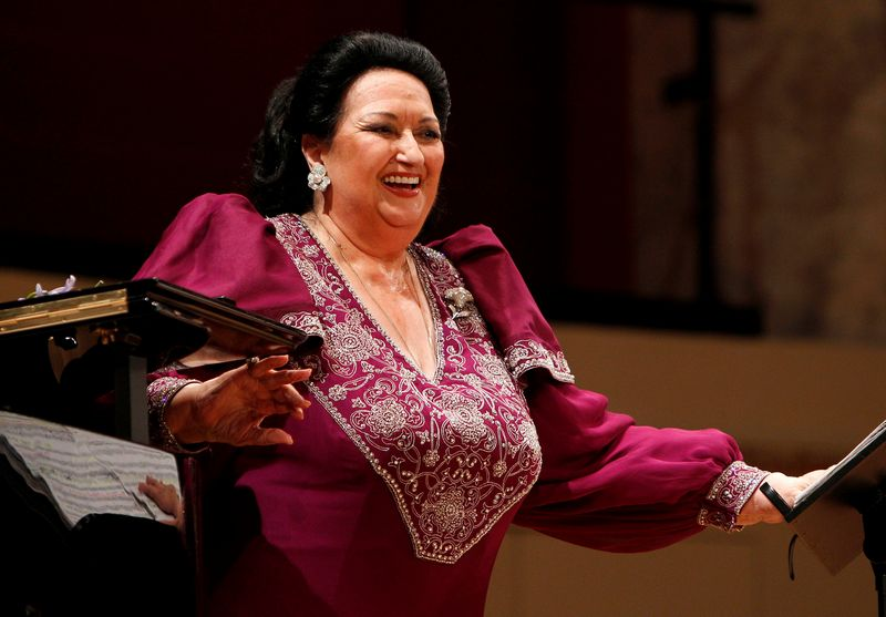 "Montserrat Caballe koncerte Vienoje, 2011 m. Lisi Niesner (""Reuters"" / ""Scanpix"") nuotr."