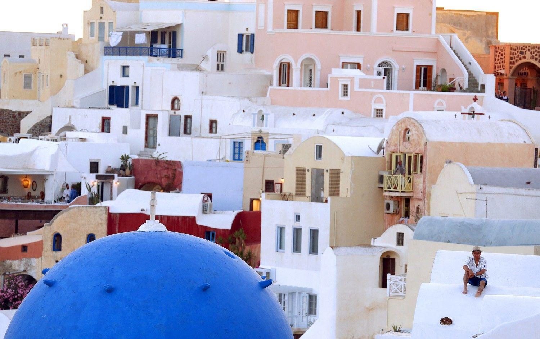 Graikija mokesčiams iš turizmo sektoriaus surinkti pasitelkė dronus
