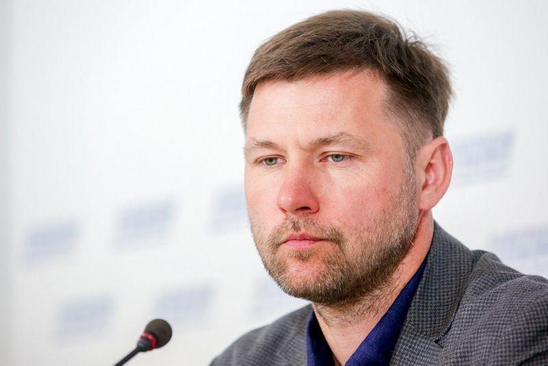 "Andrius Navickas, LŠDPS vadovas. ""15min"" / ""Scanpix"" nuotr."