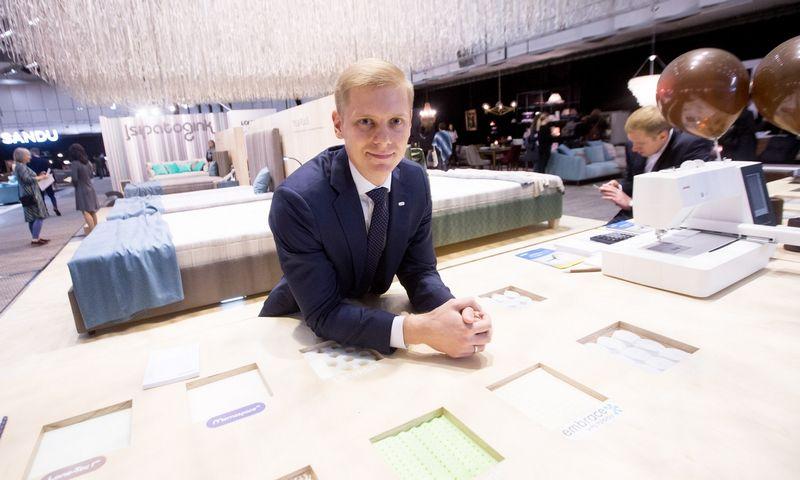 """Domas Jakutis, UAB """"Lonas"""" direktorius sako, kad kalbat apie darbuotojų etatus, įmonėse dar daug chaotiškumo ir pilkųjų zonų. Juditos Grigelytės (VŽ) nuotr."""