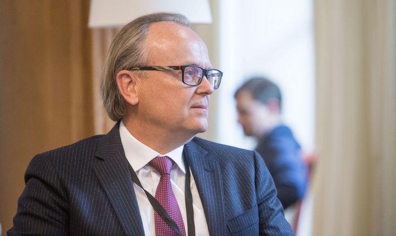 """Aurelijus Rusteika, """"Topo grupės"""" valdybos pirmininkas.  Juditos Grigelytės (VŽ) nuotr."""