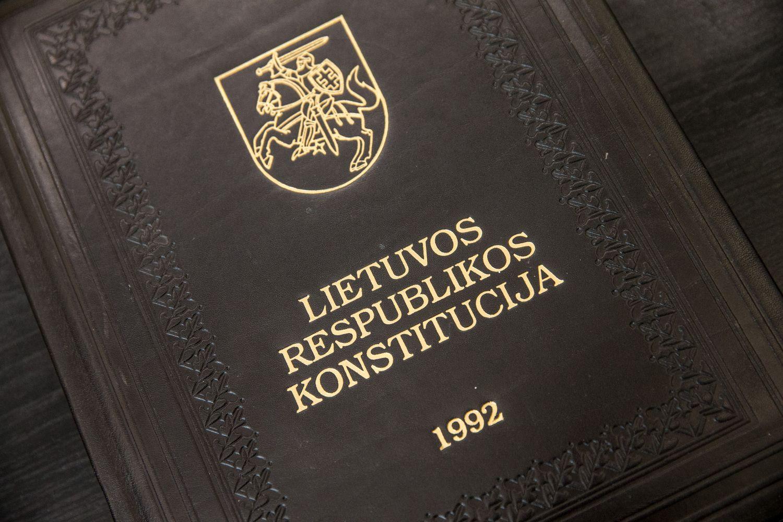 Seimas linksta įteisinti individualius skundus Konstituciniam Teismui