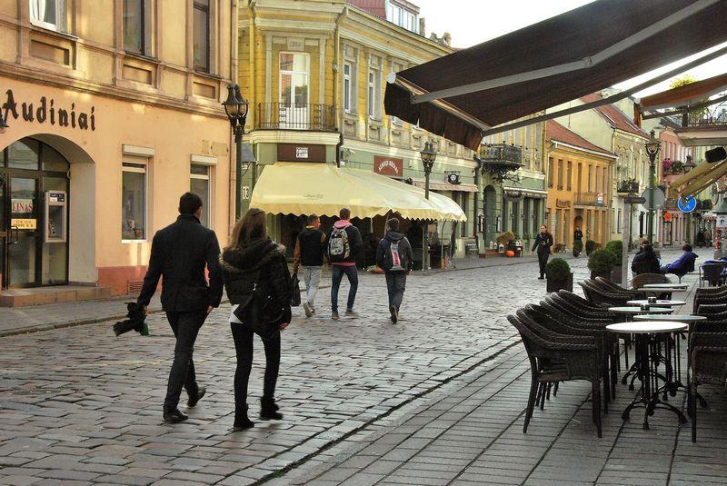 Kauno m. savivaldybė planuoja skelbti konkursą Vilniaus gatvės rekonstrukcijos darbams. Indrės Sesartės nuotr.
