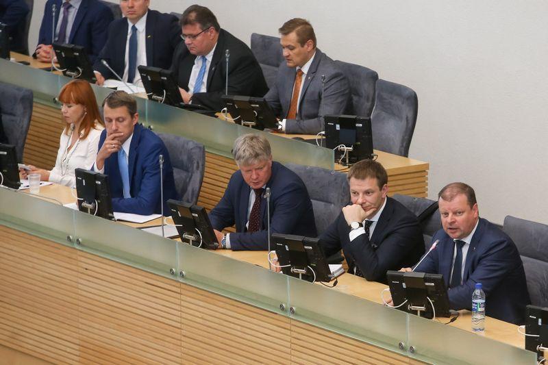 Vyriausybės valanda Seime. Vladimiro Ivanovo (VŽ) nuotr.