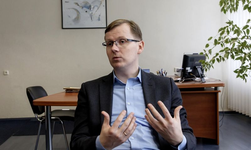 Darius Stankus, Tauragės industrinio parko plėtros vadovas. Vladimiro Ivanovo (VŽ) nuotr.