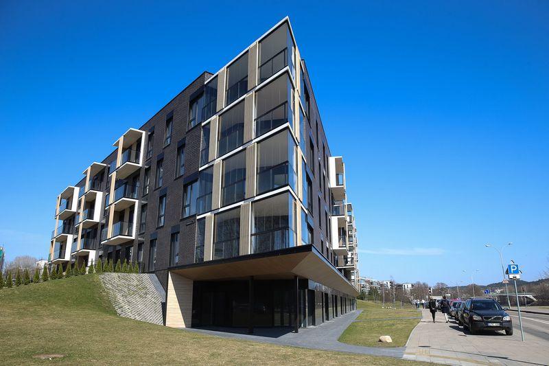"""NT plėtros AB """"Hanner"""" projektas """"Pilies apartamentai"""". Vladimiro Ivanovo (VŽ) nuotr."""