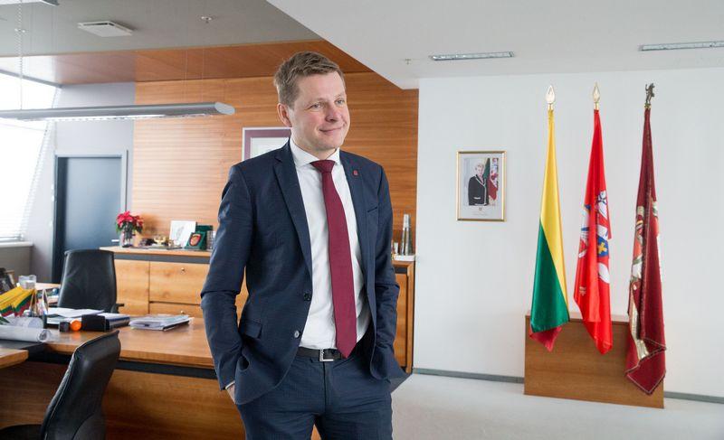 Vilniaus miesto meras Remigijus Šimašius. Juditos Grigelytės (VŽ) nuotr.