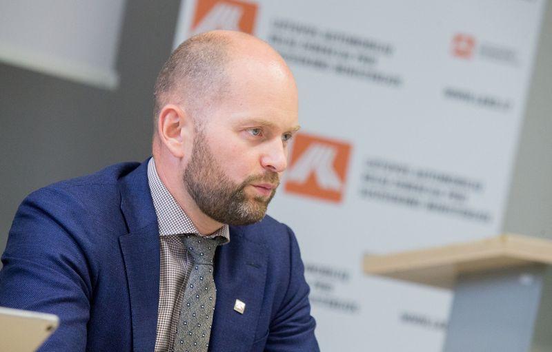 Vitalijus Andrejevas, laikinai einantis Lietuvos automobilių kelių direkcijos direktoriaus pareigas. Juditos Grigelytės (VŽ) nuotr.