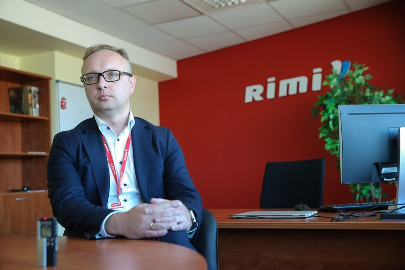 """Giedrius Bandzevičius, """"Rimi Lietuva"""" generalinis direktorius. Vladimiro Ivanovo (VŽ) nuotr."""