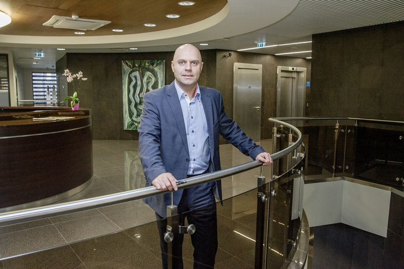 """Dinas Petrikas, """"Redgate Capital"""" atstovas Lietuvoje. Vladimiro Ivanovo (VŽ) nuotr."""