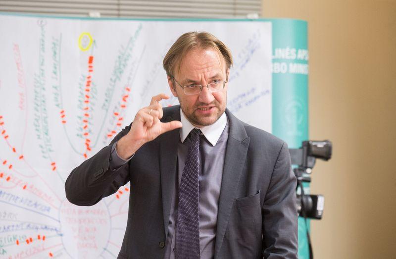 Gediminas Šimkus, Lietuvos banko Ekonomikos ir finansinio stabilumo tarnybos direktorius. Juditos Grigelytės (VŽ) nuotr.