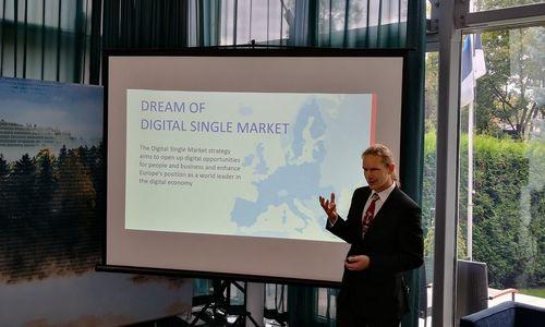 Estijos e. parašo sprendimų bendrovė kuriasi Vilniuje
