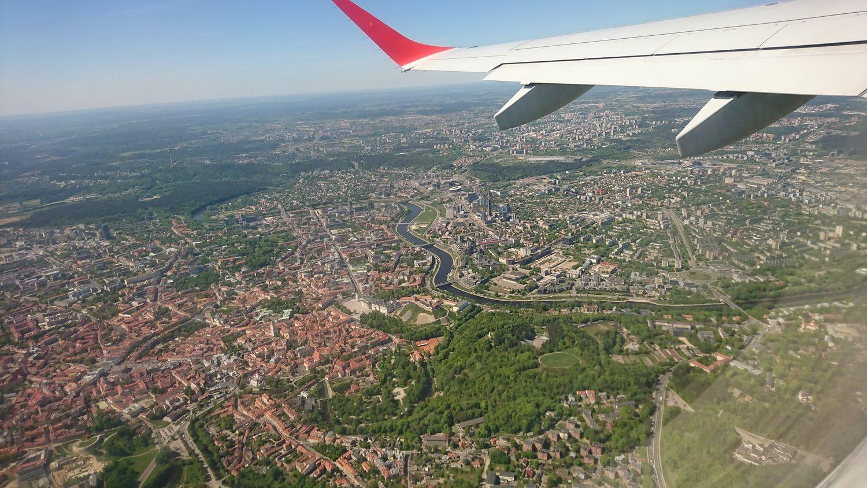 Lėktuvai aplenks tankiai apgyvendintus Vilniaus rajonus