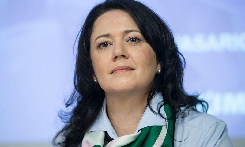 """""""Maxima LT"""" generalinė direktorė Kristina  Meidė. Vladimiro Ivanovo (VŽ) nuotr."""