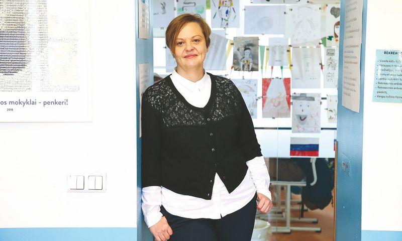 """Rita Meilūnaitė, UAB Karalienės Mortos mokyklos rinkodaros vadovė: """"Pajamų augimą lėmė didesnis vaikų, besimokančių mūsų mokykloje, skaičius."""" Vladimiro Ivanovo (VŽ) nuotr."""