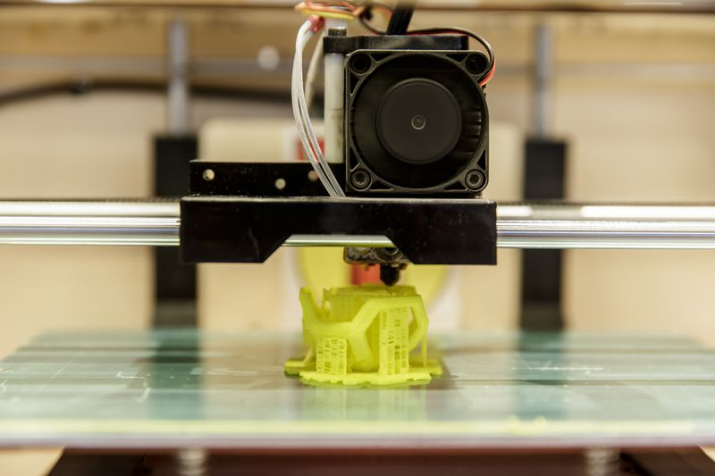 3D spausdintuvas. Vladimoro Ivanovo (VŽ) nuotr.