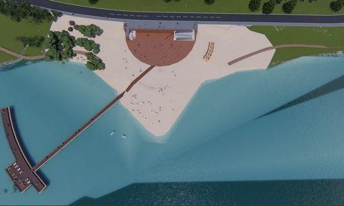 Kaune planuojama sutvarkyti Lampėdžių paplūdimį