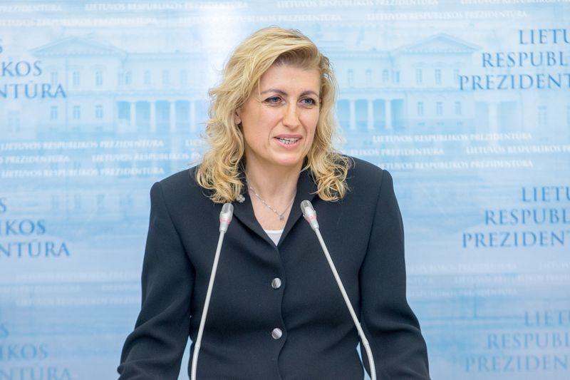 Liana Ruokyte-Jonsson, kultūros ministrė. Vladimiro Ivanovo (VŽ) nuotr.