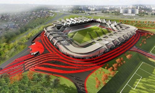 Nacionalinio stadiono vieta – Neries teritorijoje, kurioje statyti negalima
