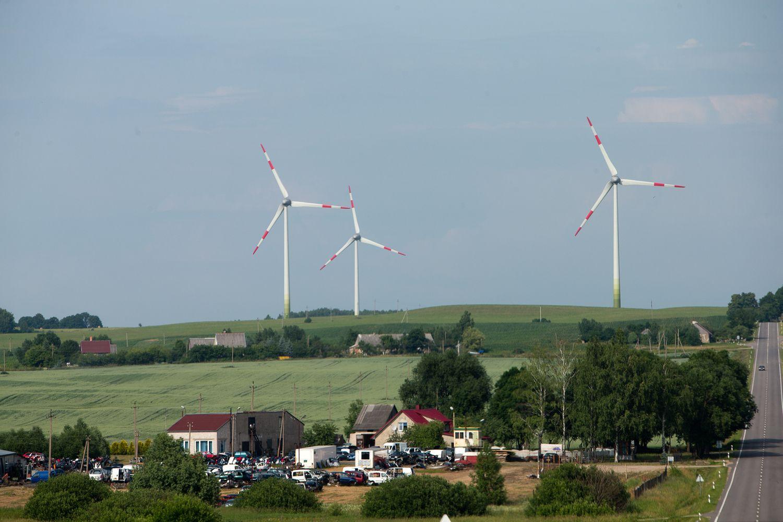 """Vokietijai ir Austrijaivėjo ir saulėsnepakaks, dairosi į """"žaliąsias"""" dujas"""