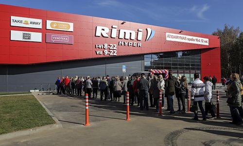 """""""Rimi"""" atidarė naująparduotuvę Kaune"""