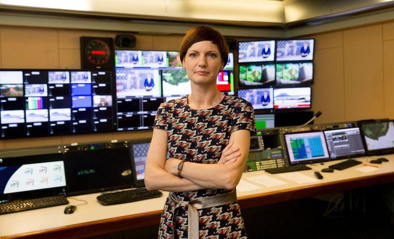 LRT generalinė direktorė Monika Garbačiauskaitė-Budrienė. Juditos Grigelytės (VŽ) nuotr.