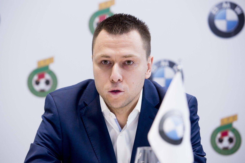 Naujuoju Futbolo federacijos generaliniu sekretoriumi tapo Stankevičius