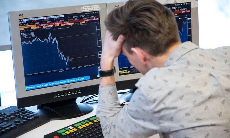 Neprofesionalūs investuotojai labiau linkę kentėti augantį minusą. Vladimiro Ivanovo (VŽ) nuotr.