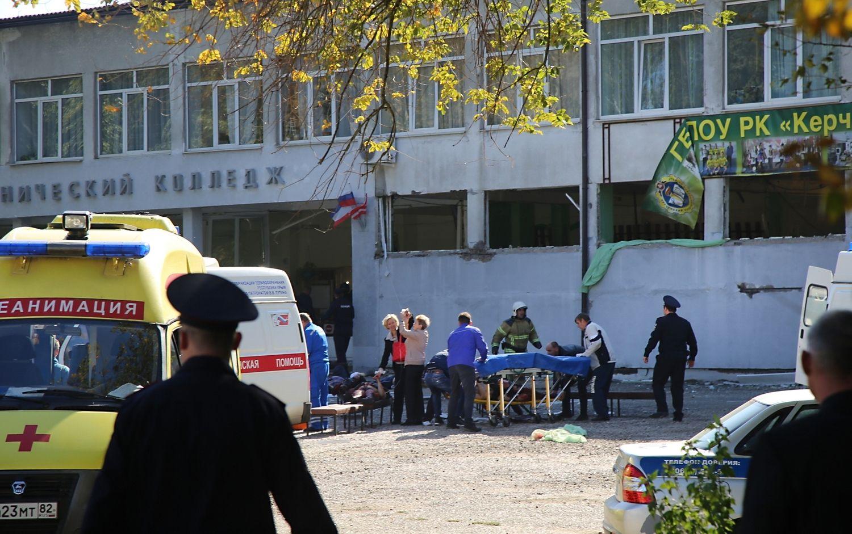 Kryme įvykdytas teroro aktas, pranešama apie aukas
