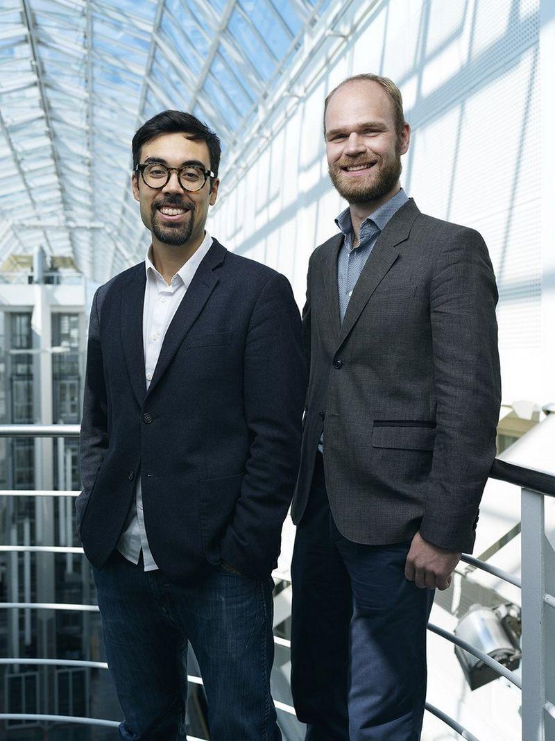 """Shahanas Lilja (kairėje) ir Gintautas Miliauskas susipažino dirbdami JAV didžiųjų duomenų analizės bendrovėje """"Palantir"""". Asmeninio archyvo nuotr."""