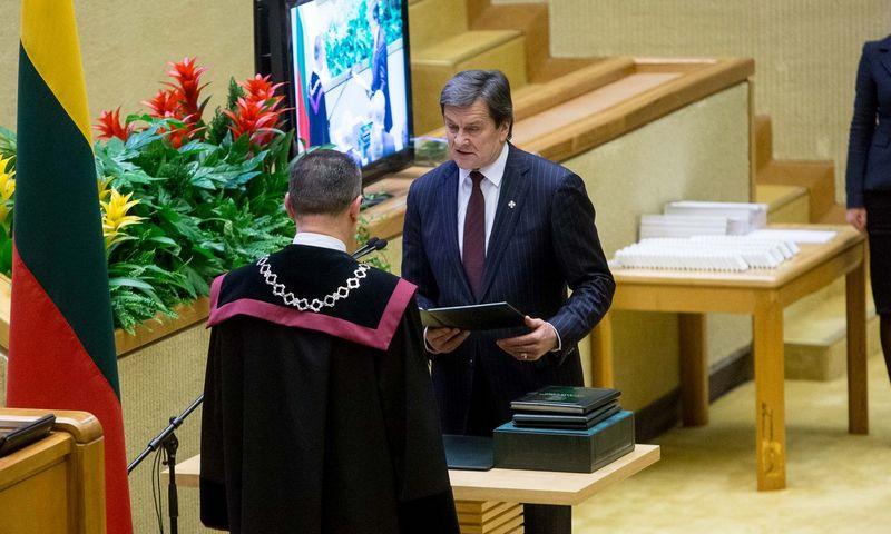 Rimas Andrikis. Vladimiro Ivanovo (VŽ) nuotr.