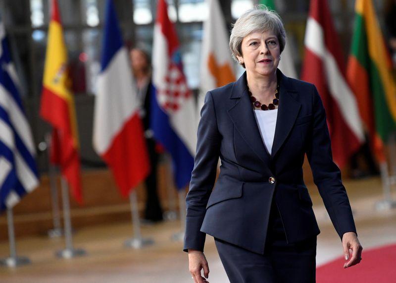 """Jungtinės Karalystės (JK) premjerė. Piroschka van de Wouw (""""Reuters"""" / Scanpix"""")  nuotr."""