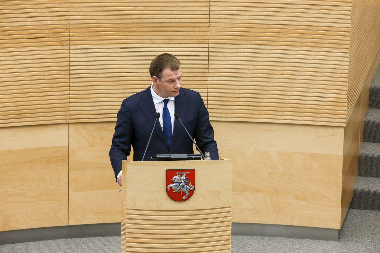 Seimas paniro į kitų metų biudžeto svarstymą