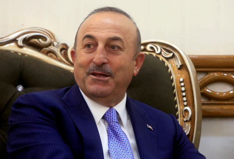 "Turkijos užsienio reikalų ministras Mevlutas Cavusoglu. Alaa al-Marjani (""Reuters"" / ""Scanpix"") nuotr."