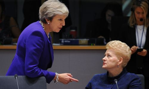 Pasaulio žiniasklaidos akiratyje –griežti D. Grybauskaitės žodžiai Londonui