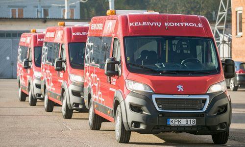 Vilniaus viešojo transporto kontrolieriams – nauji mikroautobusai