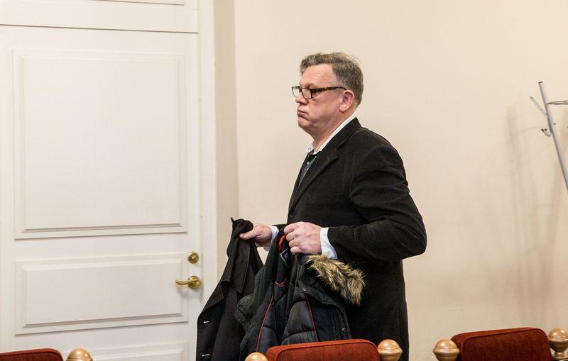 Verslininkas Arūnas Strolis Vilniaus apygardos teisme. Juditos Grigelytės (VŽ) nuotr.