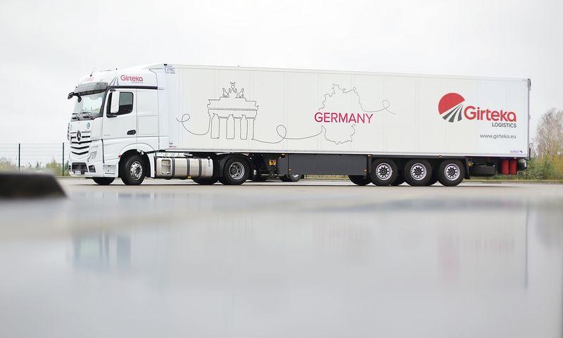 """""""Girteka Logistics"""" įkūrė antrinę įmonę Vokietijoje. Įmonės nuotr."""