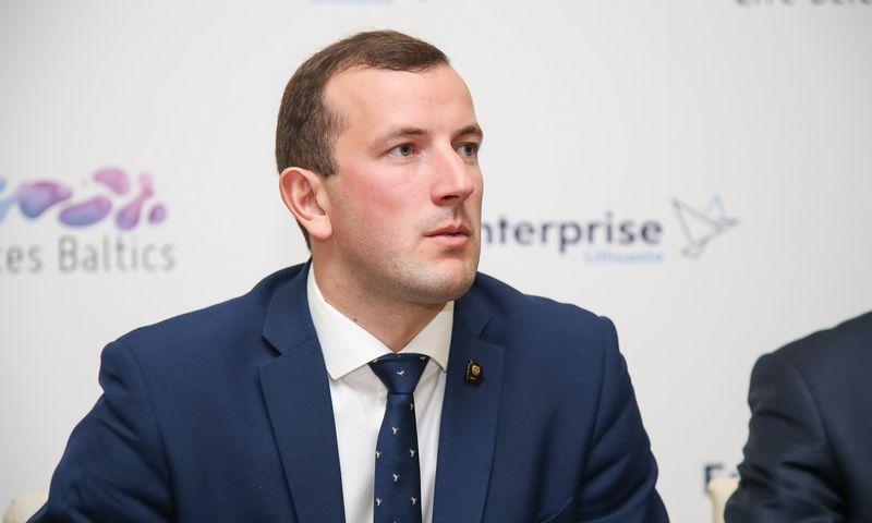 Virginijus Sinkevičius Ūkio ministras. Vladimiro Ivanovo (VŽ) nuotr.