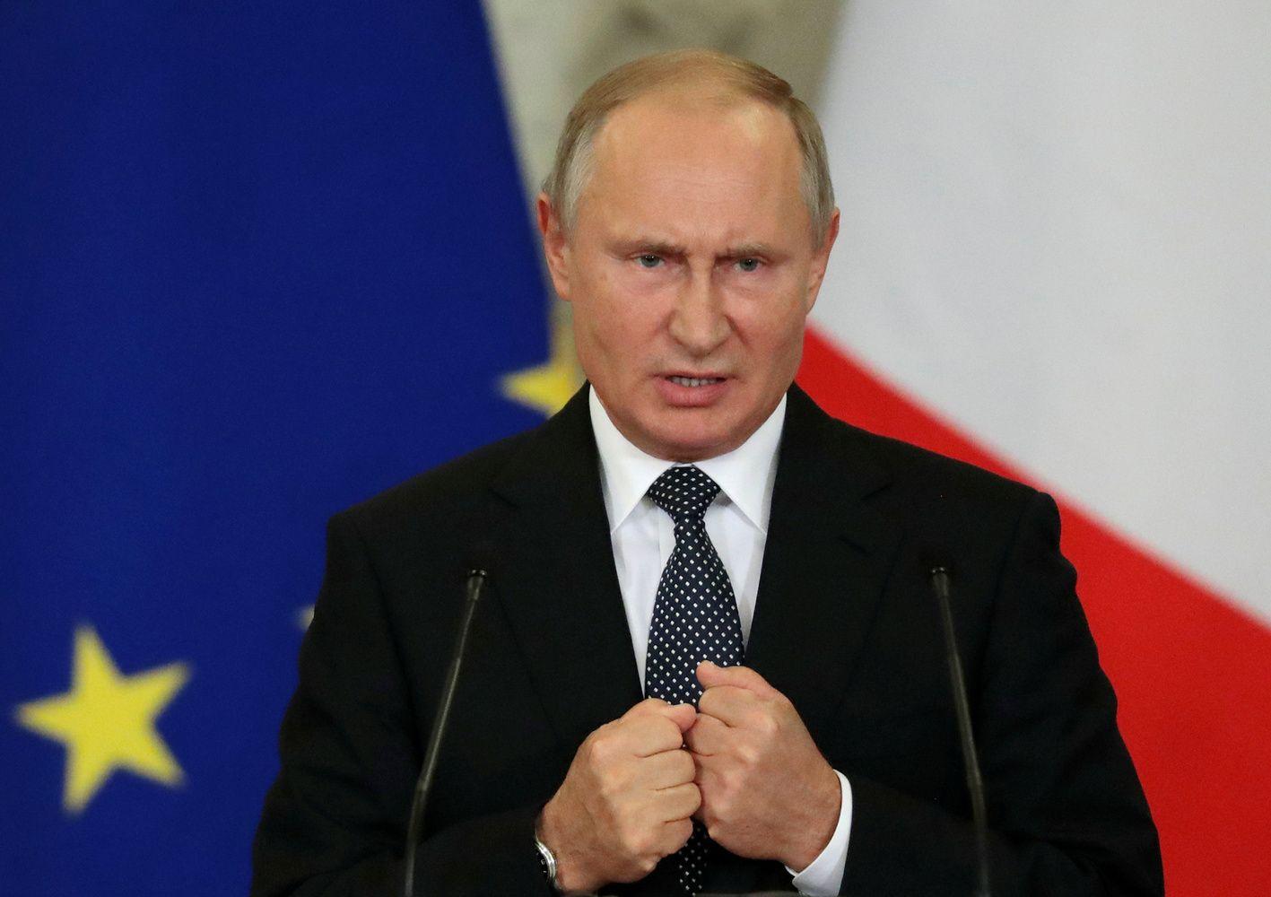 Putinas įspėjo apie galimas naujas ginklavimosi varžybas ir grėsmę Europai