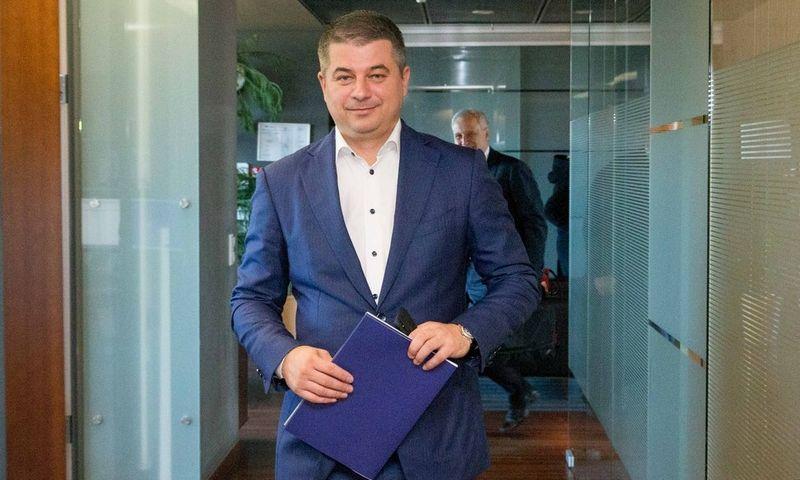 """""""Avia Solutions Group"""" valdybos pirmininkas Gediminas Žiemelis. Juditos Grigelytės (VŽ) nuotr."""