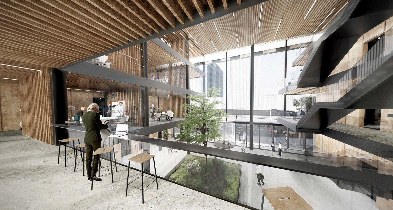 """""""Hanner"""" pradėjo dar vienas biurų statybas Vilniaus centre, investuoja 25 mln. Eur"""