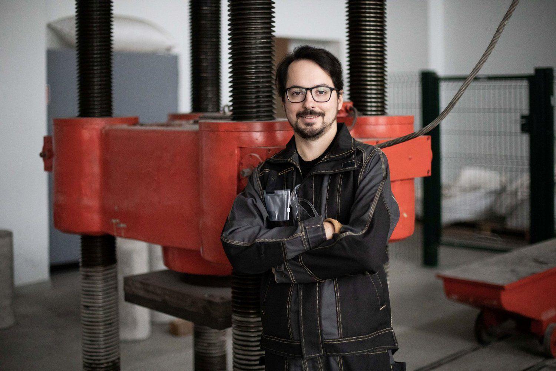 Betono rišamajai medžiagai panaudoja ir biokuro pelenus