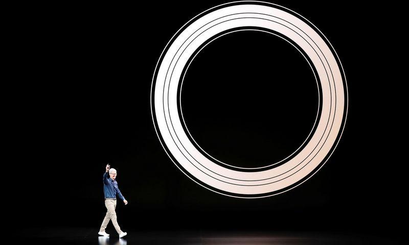 """Misijos galią kasdien įrodinėja tokios bendrovės kaip """"Apple"""". """"Reuters"""" nuotr."""