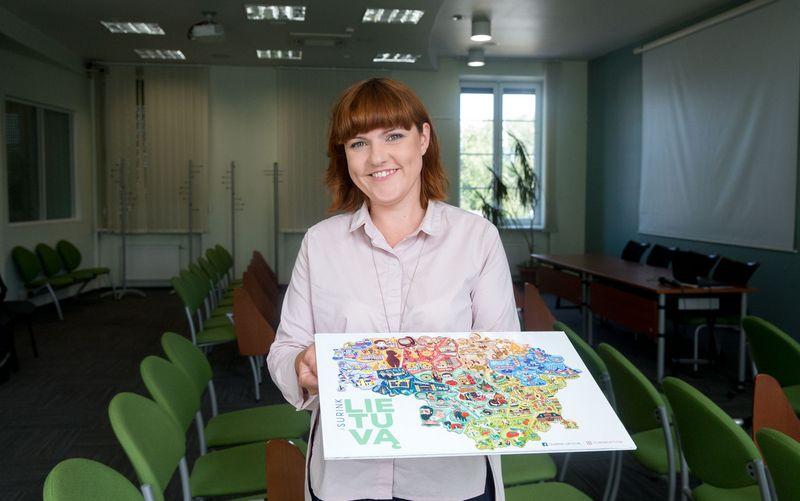 Lina Baublienė, Ukmergės turizmo ir informacijos centro direktorė. Juditos Grigelytės (VŽ) nuotr.