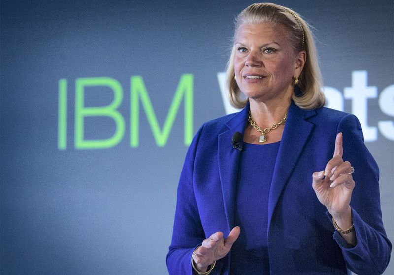 "Virginia Rometty, IBM generalinė direktorė. Brendano McDermido (""Scanpix""/""Reuters"") nuotr."