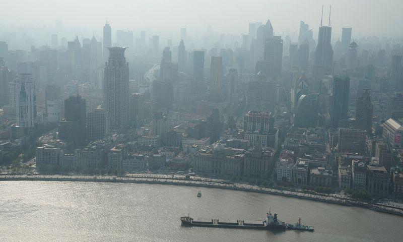 "Šanchajus. Jasono Lee (""Reuters"" / ""Scanpix"") nuotr."